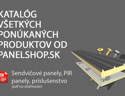 Katalóg všetkých ponúkaných produktov od panelshop.sk